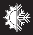 summer winter air conditioning icon31 resize vector image vector image