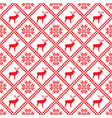 traditional scandinavian pattern nordic ethnic vector image vector image