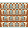 Vintage ornament pattern vector image vector image