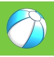 summer ball icon element for design vector image