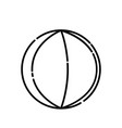 baby ball icon design clip art line icon style vector image vector image