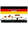 Cheering or Protesting Crowd Germany vector image vector image