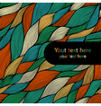colorful seamless abstract hand-drawn pattern vector image