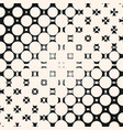 diagonal halftone pattern with circles and squares vector image vector image