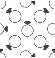 diamond engagement ring icon seamless pattern vector image