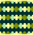green seamless pattern with abstract floral vector image