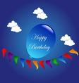Happy birthday 02 resize vector image vector image