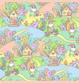 happy garden gnomes vector image