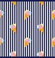 ice cream balls in a waffle cone horizontal vector image vector image