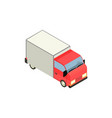 truck delivery icon vector image