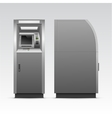 ATM Bank Cash Machine Isolated vector image vector image