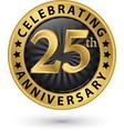celebrating 25th anniversary gold label
