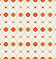 Pattern abstract colored ovals vector image vector image