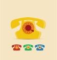 Retro Phone vector image vector image