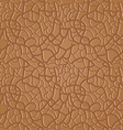 brown seamless leather pattern - vector image vector image