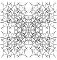 fractal of rhombuses vector image vector image