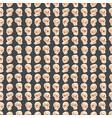 skull bones human face halloween horror crossbones vector image vector image