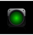 traffic light icon vector image vector image