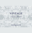 vintage baroque background pattern background vector image vector image