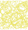 boiled floury product spaghetti pattern vector image vector image