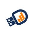 business flashdisk start up vector image vector image