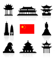 China Icon vector image vector image