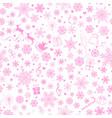 Christmas seamless pattern snowflakes