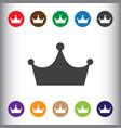 Crown icon sign icon symbol flat icon flat