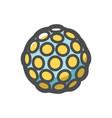 disco light ball icon cartoon vector image vector image