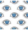 human eye pattern vector image vector image