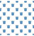 kid backpack pattern seamless vector image vector image