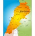 Lebanon vector image vector image