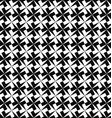 Seamless monochrome geometric pattern background vector image vector image