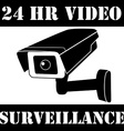 Surveillance camera vector image