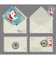 xmas letters vector image