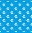 abs or pla filament coil pattern seamless blue vector image vector image