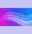 abstract gradient wave background vector image vector image