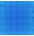 blueprint background with spots vector image