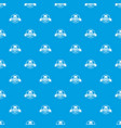car battery pattern seamless blue vector image vector image