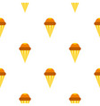ice cream cone pattern seamless vector image vector image