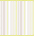 light pastel color striped seamless background vector image vector image