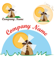 Logo for the bakery vector image vector image