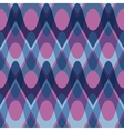 Simple purple blue scalloped seamless pattern vector image vector image