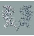 Vintage floral frame Element for design vector image vector image