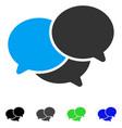 webinar flat icon vector image vector image