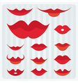 lips design vector image