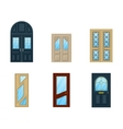 Set of interior apartment doors design