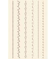 Art Line Border Set vector image vector image