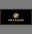 ba hexagon logo