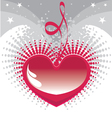 my heart for you vector image vector image